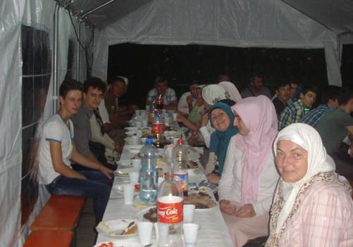 Posljednji ovoramazanski iftar u Janji