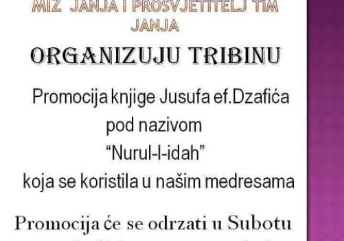 Promocija knjige Nuru-l-idah