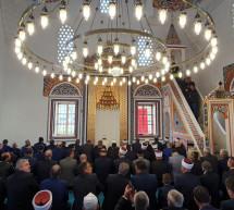 Vjernici iz Janje na otvaranju Aladža džamije u Foči