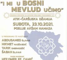 I mi u Bosni mevlud učimo